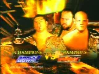 Batista & Mysterio vs Kane & Big Show