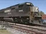 NS #204 with SD60 & UP SD70M