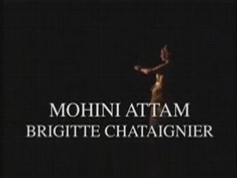 Brigitte Chataignier, Mohini Attam (La Villette, Paris)