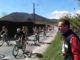 départ de la course,coupe rhone-alpes xc 2008