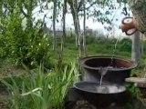 la fontaine de notre jardin du caBricorne DSCN3284.MOV