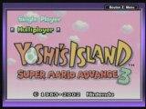 ingame Yoshi's Island : Super Mario Advance 3