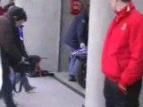 Video Une yam après une chute avant le dunlop