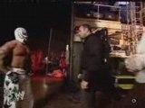 Rey Mysterio, Chavo & Vickie Backstage 19.2.06