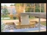 Paysagiste : aménager un jardin aquatique, aménagement jardin design, création bassin, bassin contemporain, création de jardins.