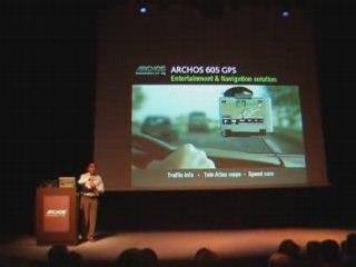 Archos : Présentation du module GPS pour l'Archos 605
