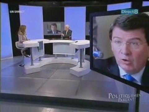 Jean-Pierre Chevènement sur Direct 8 - partie 4