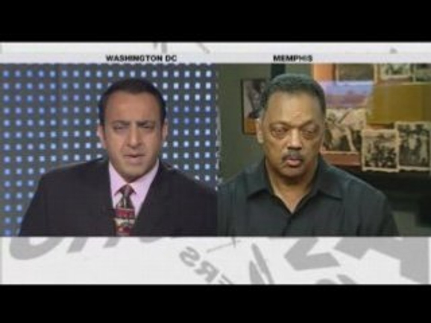 Jesse Jackson Aljazeera Riz Khan 03 April 2008