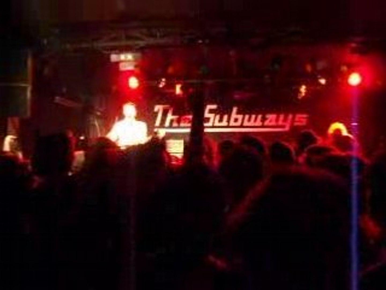 The Subways @ La Boule Noire - 22/04/08