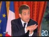 L'intervention télévisée de Nicolas Sarkozy : Le RSA