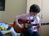 Noir désir Un jour en France a la guitare