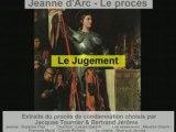 Le proces de Jeanne d Arc - Le Jugement 1/2
