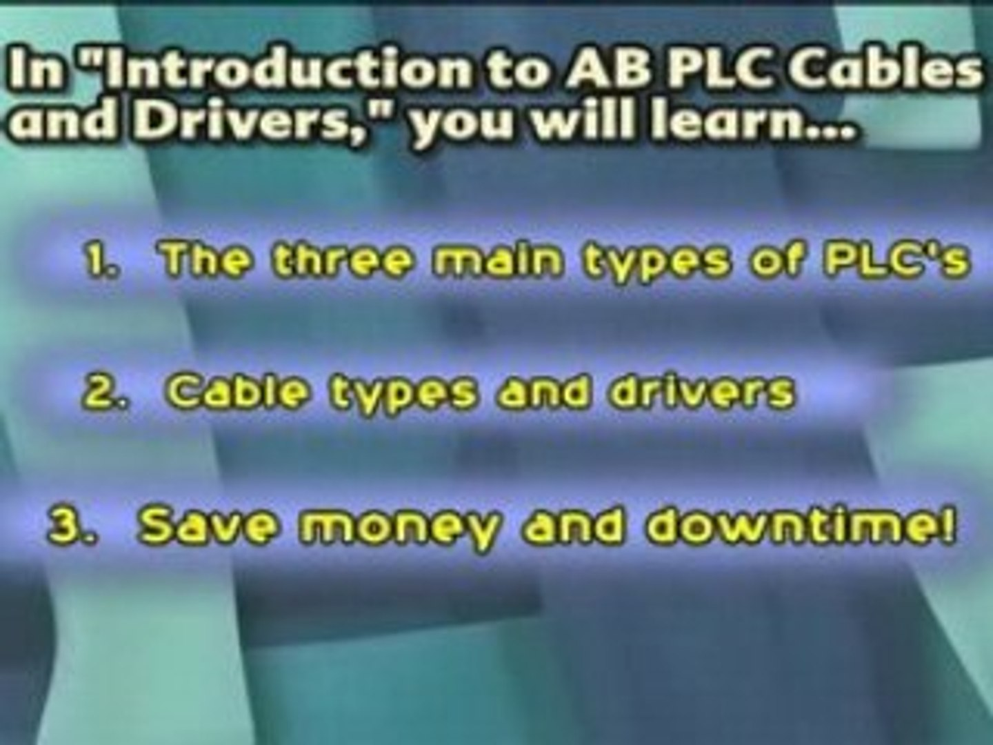 AB PLC Cables and Drivers
