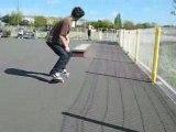 Sk8@chalonnes ==> Vincent en nose grind