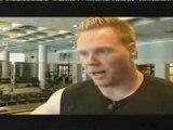 Athlé entrainement musculation Rutger Smith muscu 2
