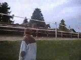 Ma ponette au parc