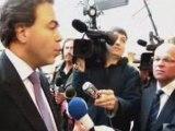 Carrefour - Loi Chatel - Reportage visite de Luc Chatel