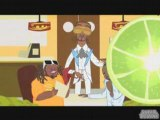 Akon Calls T-Pain Feat. Snoop Dogg (Cartoon Video)