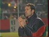 Nice - Beauvais : 0-1 (0-1). Saison 2001-2002.