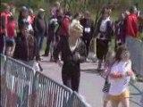 Jogging Parc et Castel à Presles le 1er mai