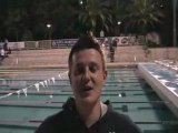 Interview de Florian Lahaye - Antibes 2008 - Finswimming