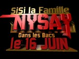 """NYSAY - """"SISI LA FAMILLE"""" LE 30 JUIN DANS LES BACS"""