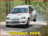 Rallye de la Durance 2008 1ere partie
