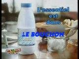 Détournement pub pour un lait connu