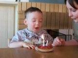 CENTER PARC : je fete mes 2 ans, je souffle mes bougies !