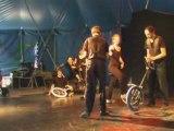 Monocycle - Numéro de cirque