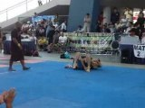 2nd no-gi match me and mike messing around!! lol
