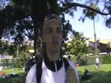 Interview de Thomas Chastagner - Antibes 2008 - Finswimming