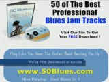 Soul Blues Backing Track in D - Guitar Jam Tracks, Lessons