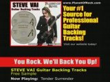 Steve Vai - Tender Surrender Guitar Backing Tracks | Music