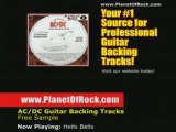 AC/DC Hells Bells Guitar Backing Track ACDC Angus Young