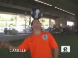 Charaf freestyler...petit cours de foot freestyle