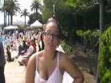 Interview de Marine Doisy - Antibes 2008 - Finswimming