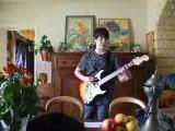 guitare électrique rock