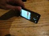 HTC Touch Diamond Touch Flo 3D : Mode vibreur automatique