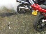 burn 2008 au mans 1100 gsxr
