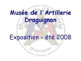 Musée de l'Artillerie - Exposition