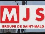 Manif de lycéen st-malo le 6 Mai. Mjs contre Darcos