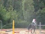 saut d'obstacle avec éole