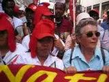 Manif des Sans-Papiers à Paris le 10 mai 2008