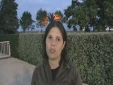 Interview de Camille Heitz - Antibes 2008 - Finswimming - 2