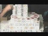 grand chateau de cartes !