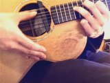 How to play percussive guitar lesson 2