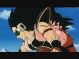 Goku and Piccolo vs Raditz part 2