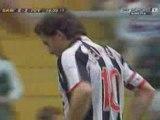 Sampdoria-Juventus 3-3 (Trezeguet rigore)