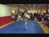 démo baraban taekwondo galeries lafayette lyon